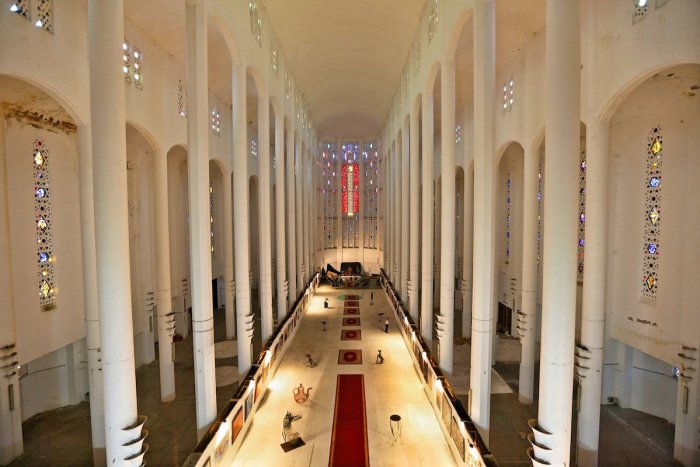 In the Cathedral of Casablanca