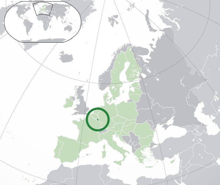 Luxembourg Image Location via Wikipedia cc