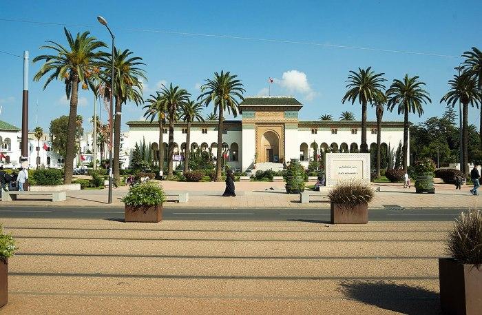 Mohammed V Square photo by Rigelus via Wikipedia CC