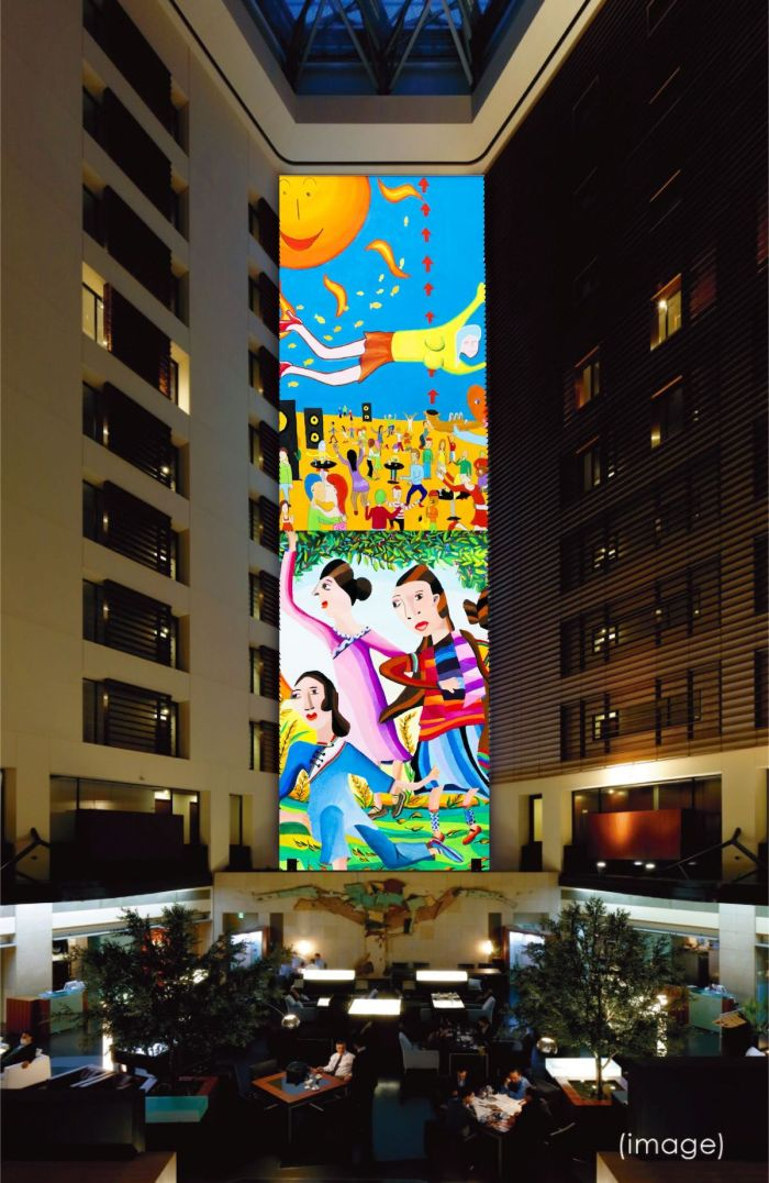 Park Hotel Tokyo announced on March 10 that it will hold an art exhibition titled