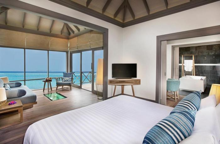 Rooms at JA Manafaru Resort