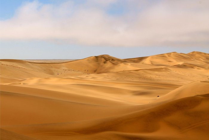 Known for its high golden sand dunes, Swakopmund is the best place to try out quad biking and sand dune surfing.