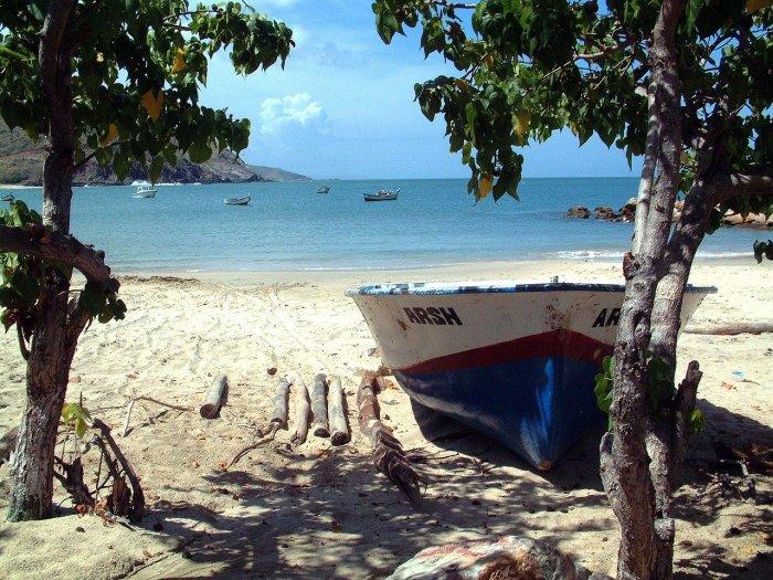 White Sand Beaches in Venezuela