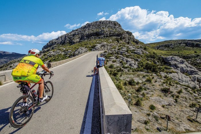 Bicycle routes to Mallorca