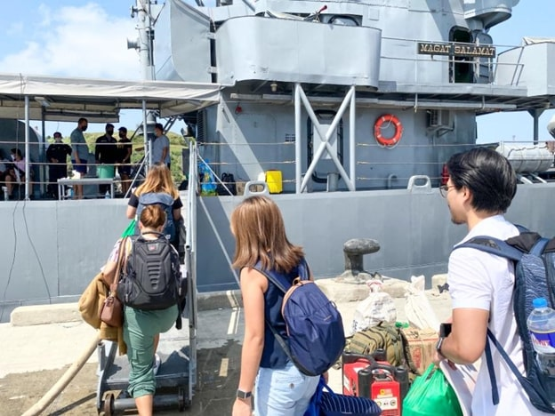 Stranded Tourists in Batanes due to Enhanced Community Quarantine in Luzon