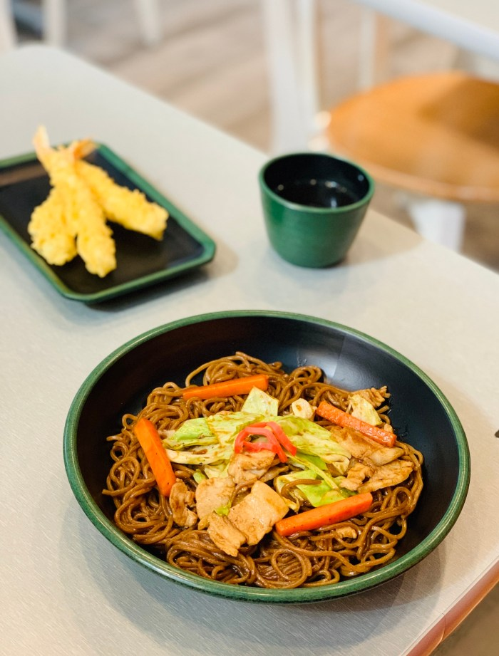 Home.fit Yakisoba-at-Moshi-Koshi Hotel Review: The Mini Suites Eton Tower in Makati City