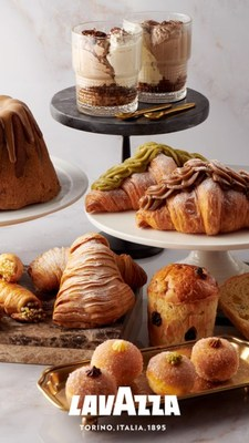 Lavazza's wide selection of classic and creative menu items