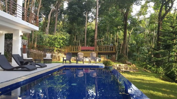 Airbnb for team building in Antipolo with a swimming pool