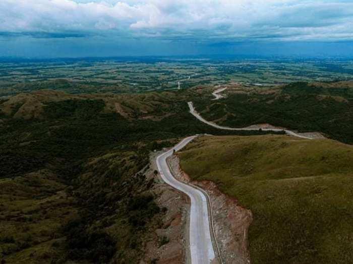 Daang Kalikasan Road photo via FB Page