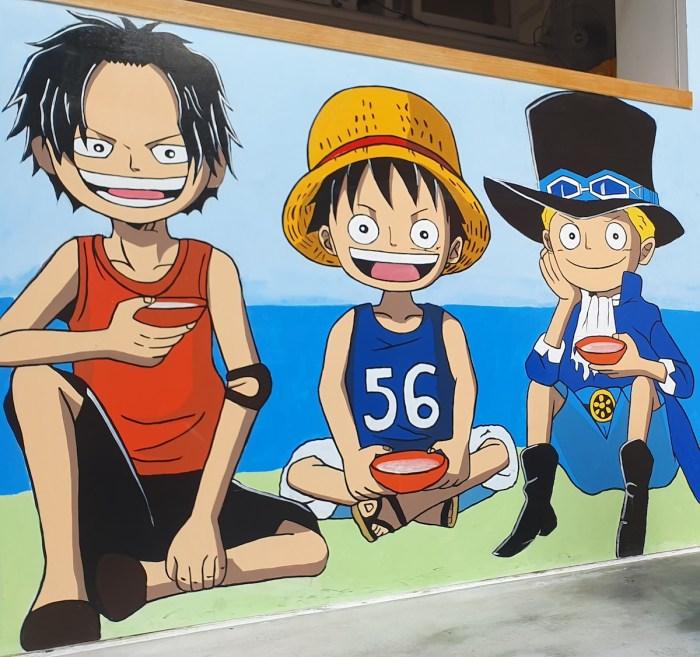 Everyone's favorite trio in One Piece
