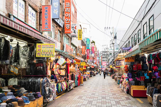 Gukje Market photo via Korea Tourism