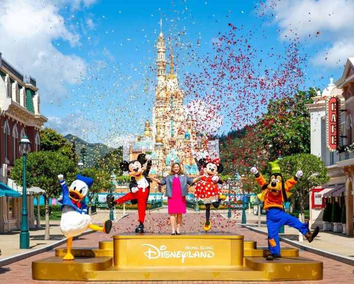 Hong Kong Disneyland officially reopens