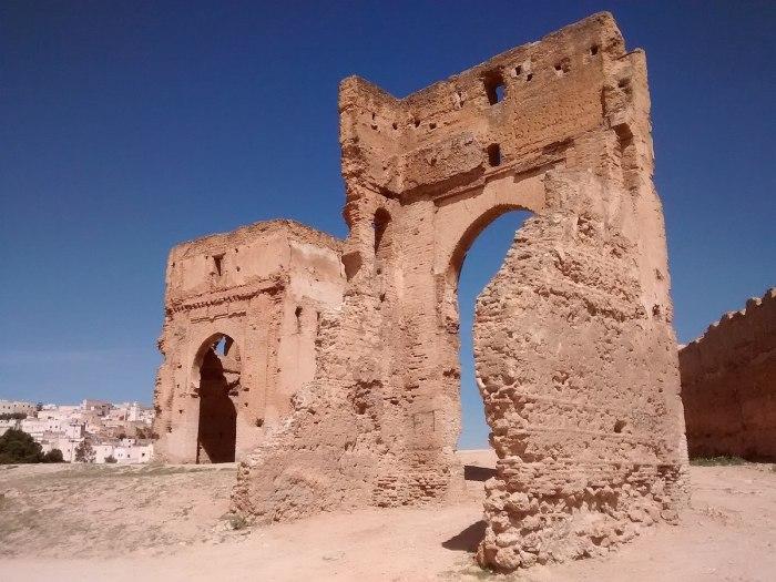 Marinid Tombs by Mx Granger via Wikipedia CC