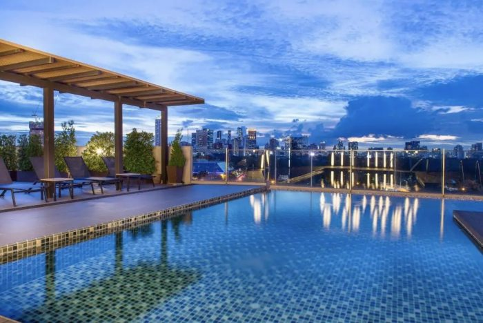 The Muse Haus in Asoke Bangkok Airbnb with swimming pool