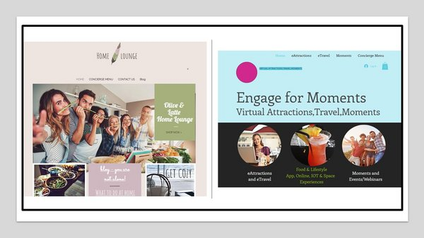 Olive and Latte brings to readers and viewers Olive and Latte Home Lounge while Engagevu presents Engage for Moments