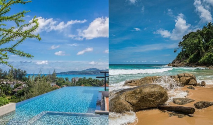 Airbnbs in Phuket with Infinity Pool near Surin Beach