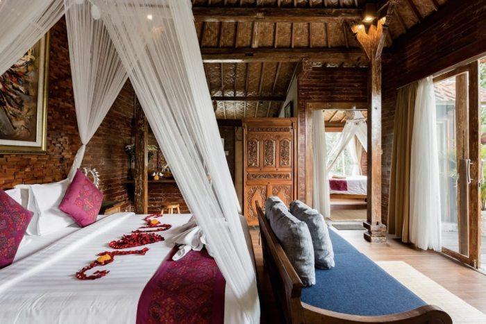 Bali Airbnb Cozy Boutique Villa close to Ubud Market
