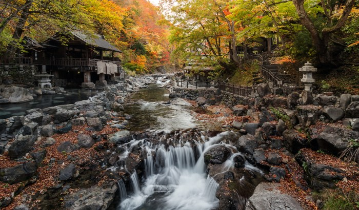 Best Onsen Towns in Japan photo via Depositphotos