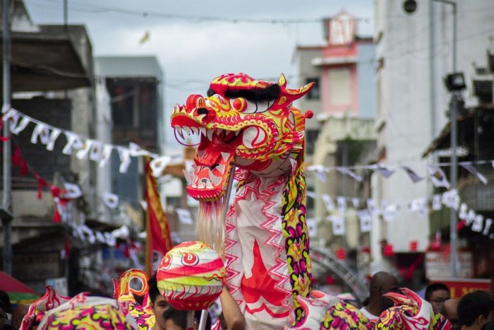 Chinese Festival in Mauritius Chinatown