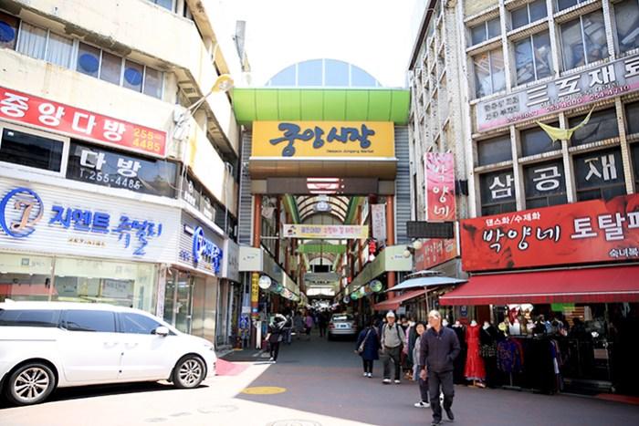 Daejeon Jungang Market photo via VisitKorea
