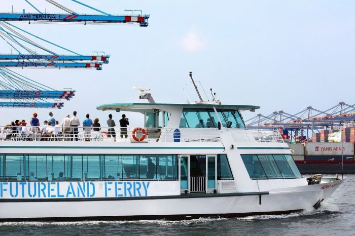 Futureland ferry photo via Port of Rotterdam