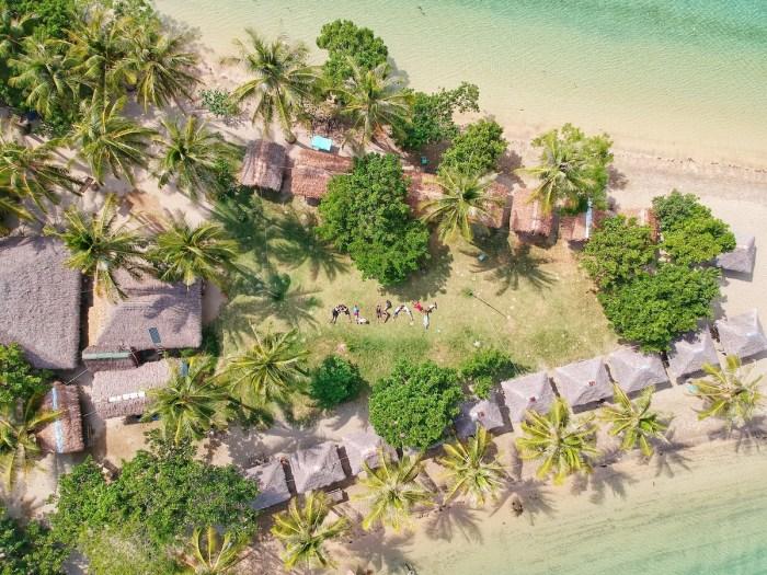 Guinanayan Island in Albay photo by Mariane Tagaca