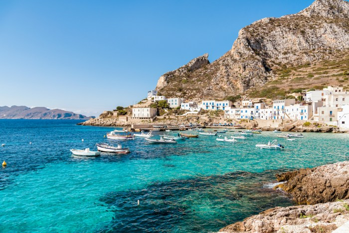 Île de Levanzo en photo de Sicile via Depositphotos