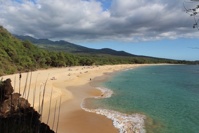 Makena Beach in Maui Hawaii