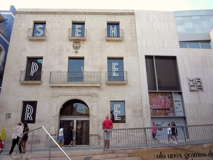 Museo de Arte Contemporaneo de Alicante photo by Zarateman via Wikipedia CC