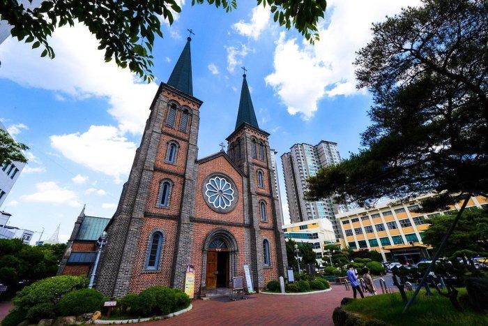 Cathédrale Notre-Dame de Lourdes ou simplement cathédrale de Daegu
