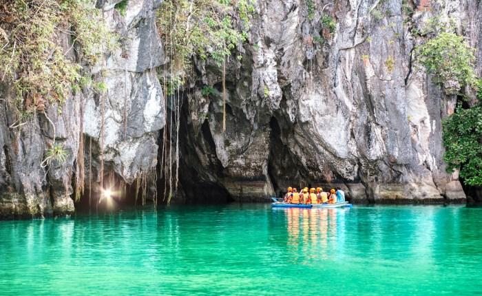 Puerto Princesa Underground River via Depositphotos