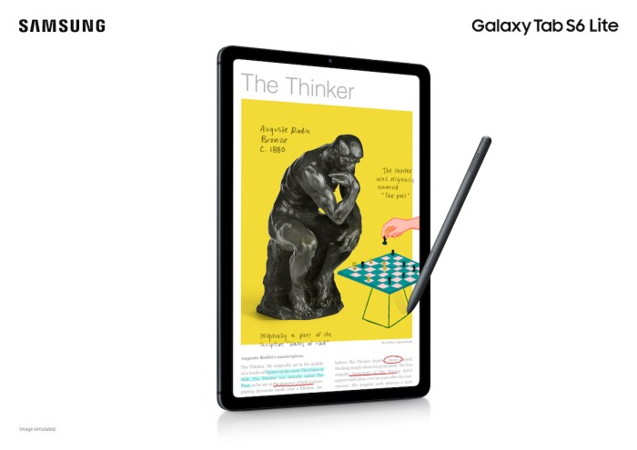SAMSUNG officially launches the new Galaxy Tab S6 Lite