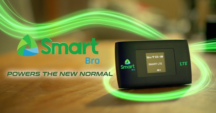 Smart Bro Prepaid LTE Pocket WiFi for only P999