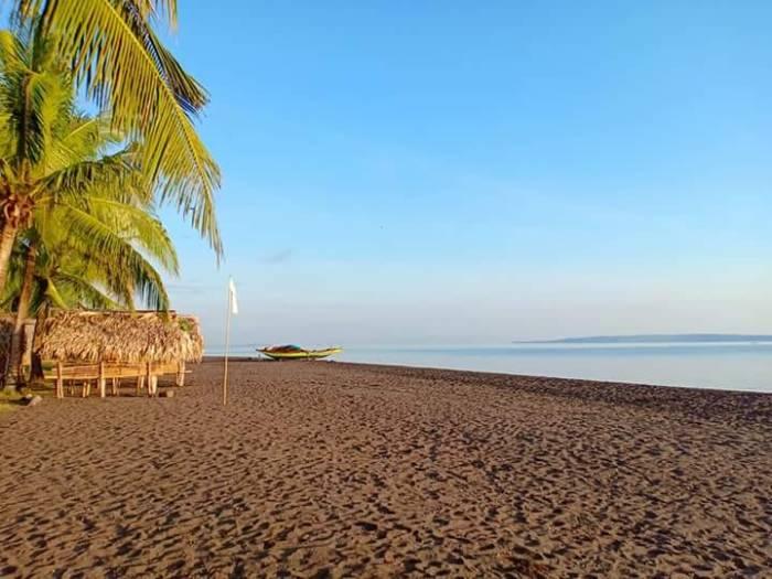 Sogod Black Sand Beach photo by Rene Benitez Robosa via FB