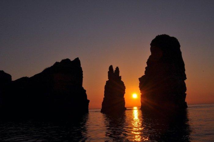 Sunset in Baengnyeongdo