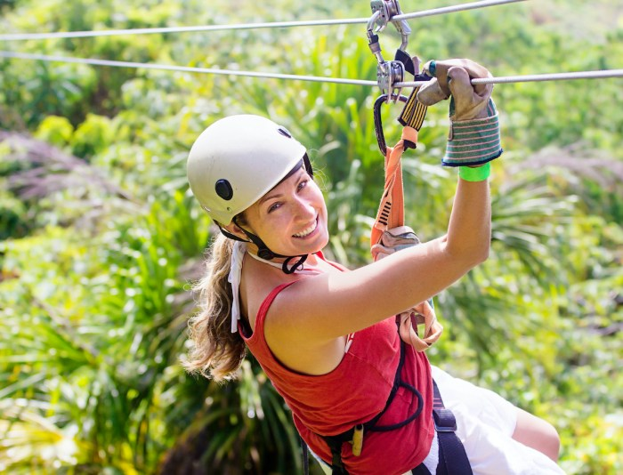 Zipline Adventure in Maui via Depositphotos