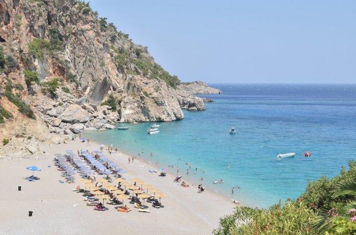 Beach in Marmari Turkey