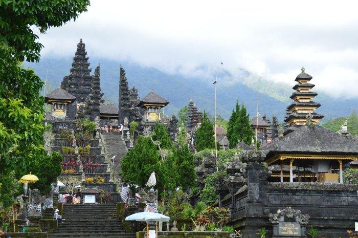 Besakih Temple in Bali Indonesia