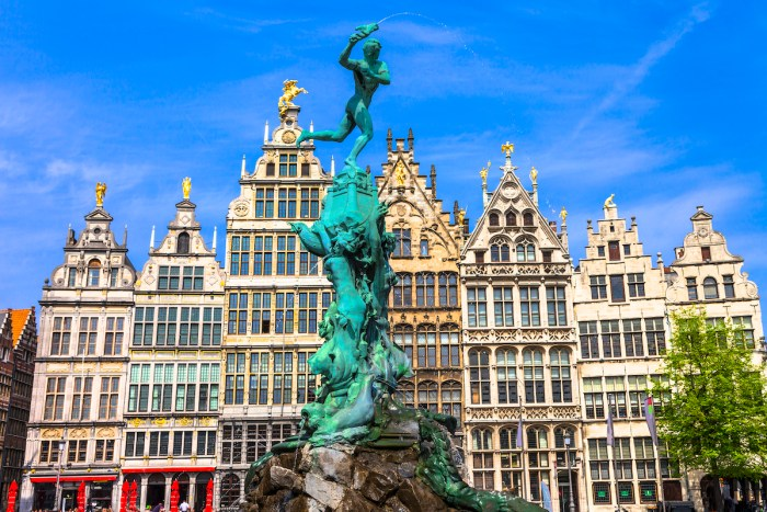 Best Things to do and See in Antwerp Belgium via DepositPhotos