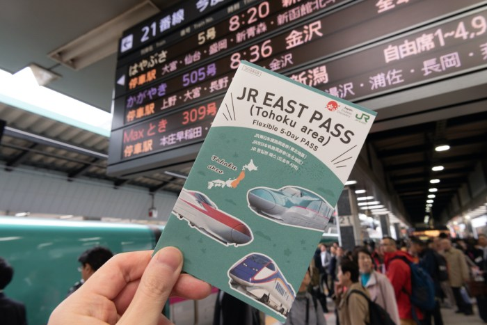 Buy JR Pass photo via Deposit Photos