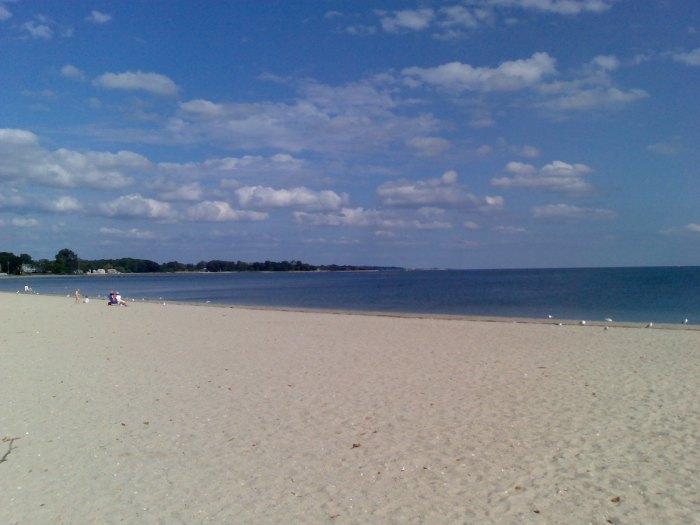 Compo Beach by Sarah B Brooks via Flickr CC