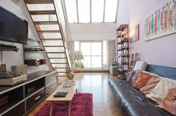 Duplex Airbnb Apartment located Downtown Buenos Aires