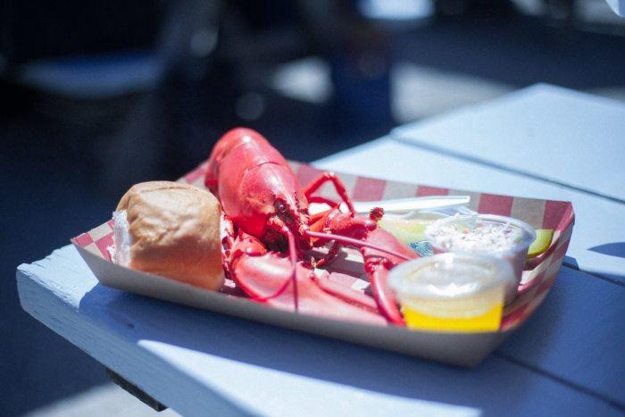 Fresh Lobster, Rockland Maine by James Fitzgerald via Unsplash