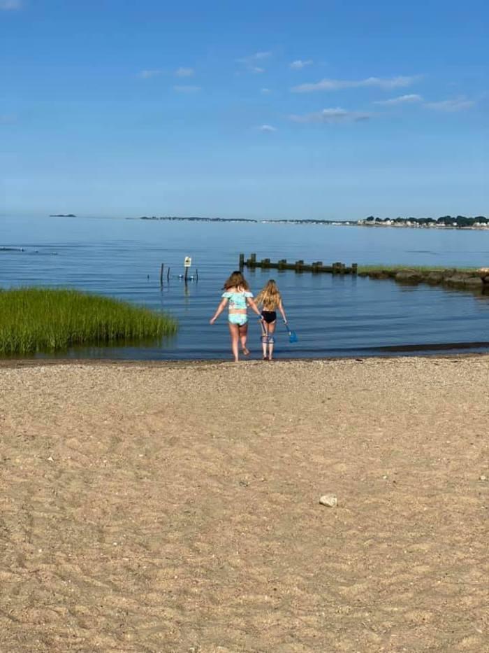Harvey's Beach CT by Alicia Butler via Facebook