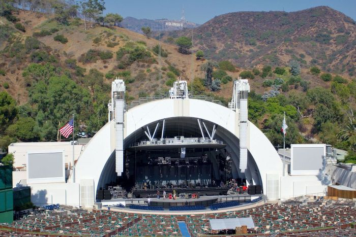 Hollywood Bowl by Matthew Field via Wikipedia CC