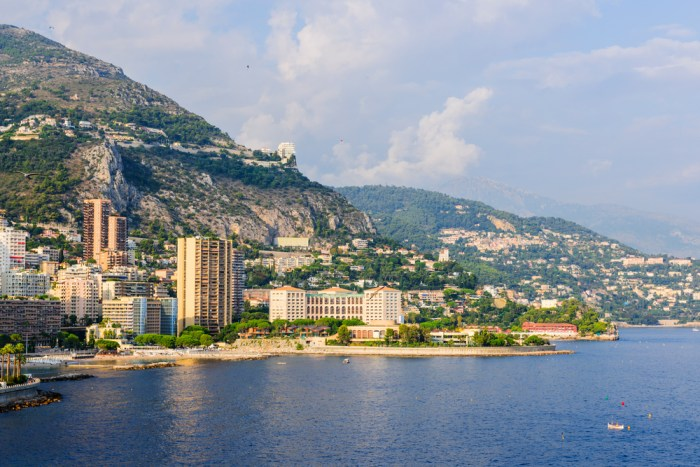 Larito Beach in Monaco via Depositphotos