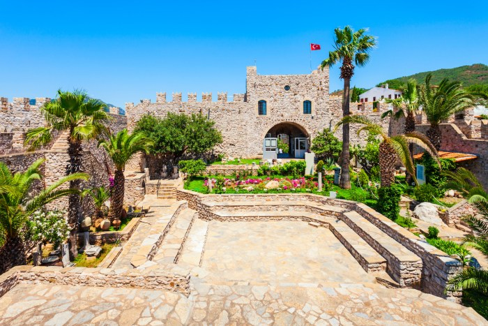 Marmaris Castle and Archaeology Museum via Depositphotos