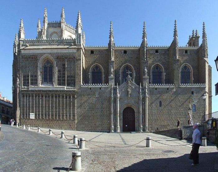 Monastery of San Juan de los Reyes by Querubin Saldana Sanchez via Wikipedia CC