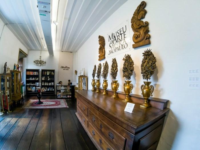 Museum of Sacred Art of Sao Paulo photos via Depositphotos