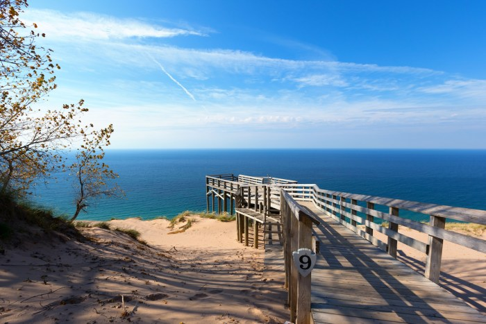 Sleeping Bear Dunes National Lakeshore photo via Depositphotos